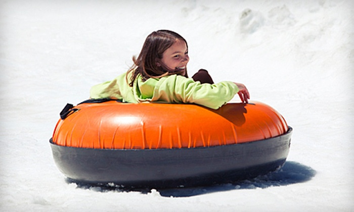 Tubby Tubes - Tubby Tubes: Two Hours of Snow Tubing and Hot Chocolate for Two or Four at Tubby Tubes (Up to 53% Off)
