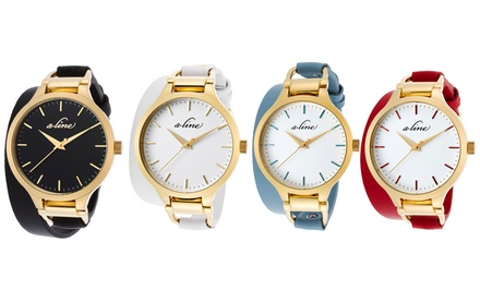 a_line Gemini Women's Watches
