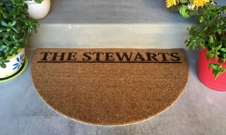 One or Two Personalized Doormats
