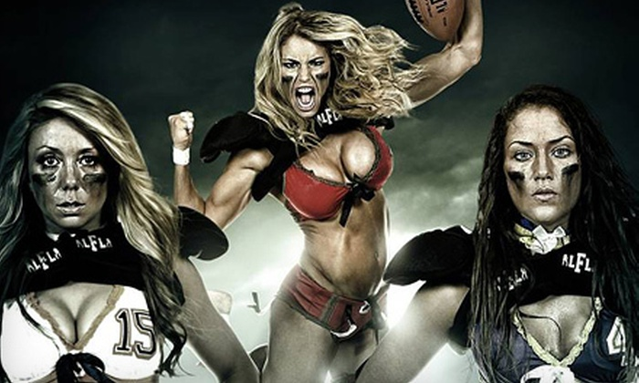 Lingerie Football League Canada Championship Game - Abbotsford: Lingerie Bowl Game for One or Four on Saturday, November 17 (Up to 68% Off)