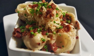 Five40 Kitchen & Social House: Tapas for Two or Four and One or Two Bottles of House Wine at Five40 Kitchen & Social House (Up to 45% Off)