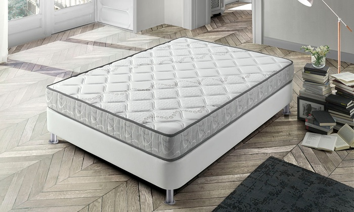 matelas en mousse m moire de forme bio pur 18 cm d 39 paisseur groupon. Black Bedroom Furniture Sets. Home Design Ideas