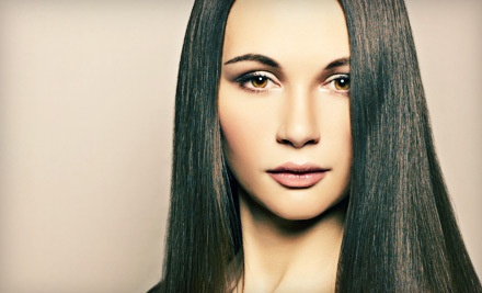 60-Minute Keratin Treatment with Shampoo, Conditioning, and Trim (a $250 value)  - Salon PURE Loft in Owasso