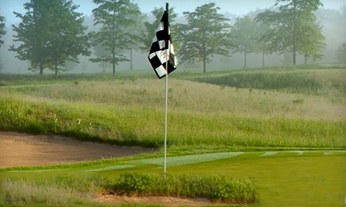 Prairie View Golf Club - Brooks Landing at Prairie View: 18-Hole Rounds and Lessons for Three with Dining Credits and Option for Club at Prairie View Golf Club (Up to 83% Off)
