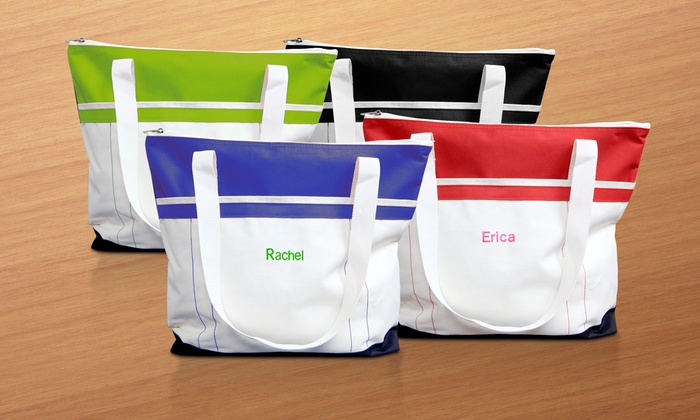 Monogram Online: $29.99 for a Personalized Fitness Tote from Monogram Online ($49.99 Value)