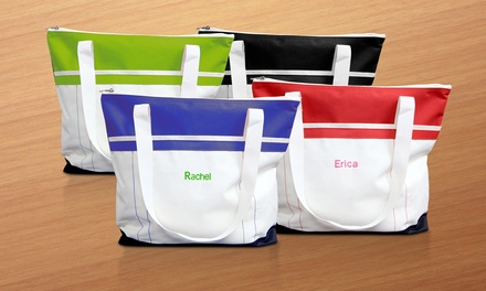 $29.99 for a Personalized Fitness Tote from Monogram Online ($49.99 Value)