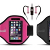 Active Sports Armband and Earbuds Kit for Galaxy S5 and iPhone 6