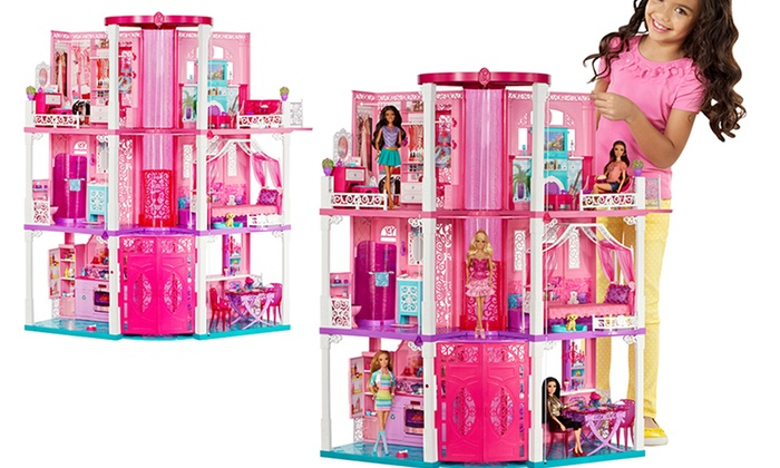 Barbie dream house with elevator discount coupons