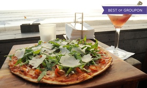 QuickFire Pizza: Personal Wood-Fired Pizzas at QuickFire Pizza (Up to 36% Off)