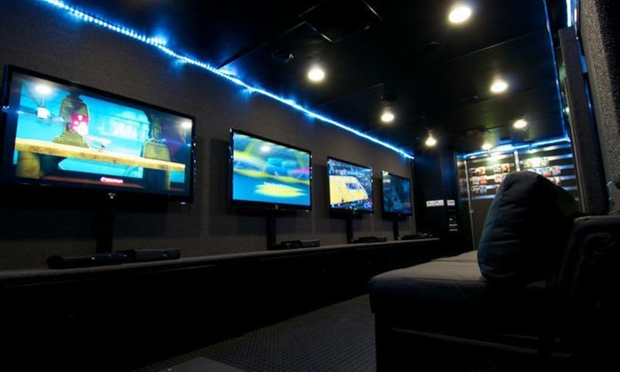 AJ & Chris Bounce House - Detroit: $100 for $200 Worth of Mobile Gaming Party at AJ & Chris Bounce House