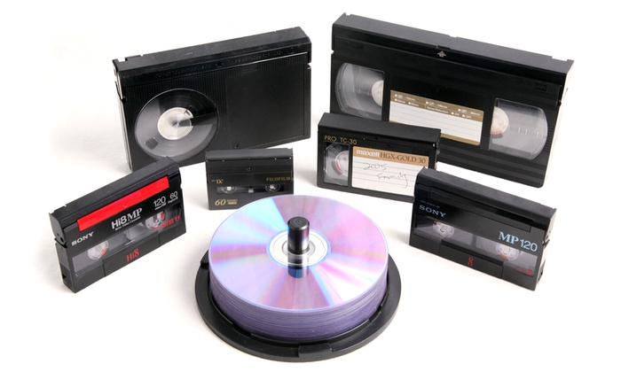 Moonlight Video Productions - Multiple Locations: $32 for Four Videotape-to-DVD Transfers at Moonlight Video Productions ($100 Value)