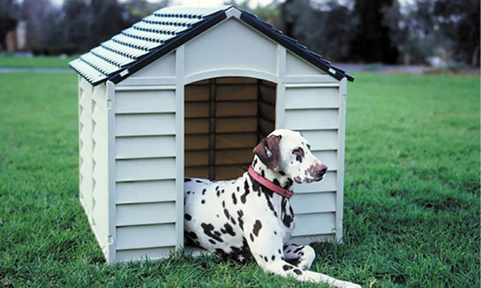 All weather dog kennel groupon goods for All weather dog kennels