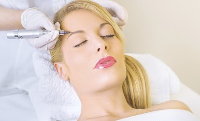 <strong>Permanent Makeup</strong> or Microblading at Glow Medspa (Up to 67% Off)