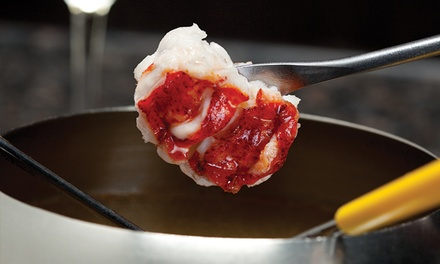 Lobster Fondue Dinner for Two or Four at The Melting Pot (Up to 47% Off). Four Options Available.