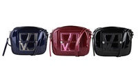 Versace Jeans Patent Leather Crossbody Handbags