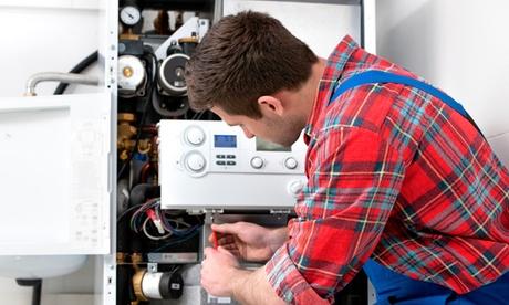 Revisión completa de caldera de gas con 1 año de seguro de mantenimiento por 29,95 € o de caldera de gasóleo por 59,95 €