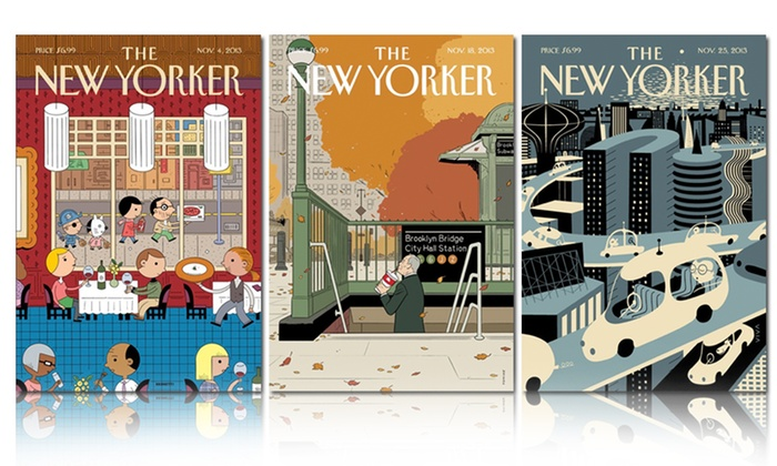 1-Year, 47-Issue Subscription to The New Yorker: 1-Year, 47-Issue Subscription to The New Yorker