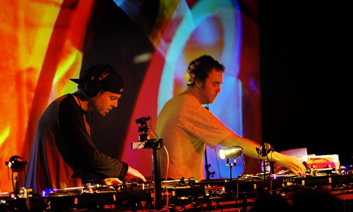 DJ Shadow and Cut Chemist - Skyway Theatre: DJ Shadow and Cut Chemist at Skyway Theatre on September 24 at 8 p.m. (Up to 50% Off)