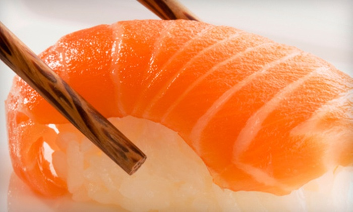 Fujimi Sushi and Japanese Steak House - Matthews: $20 Worth of Sushi and Hibachi-Grill Cuisine