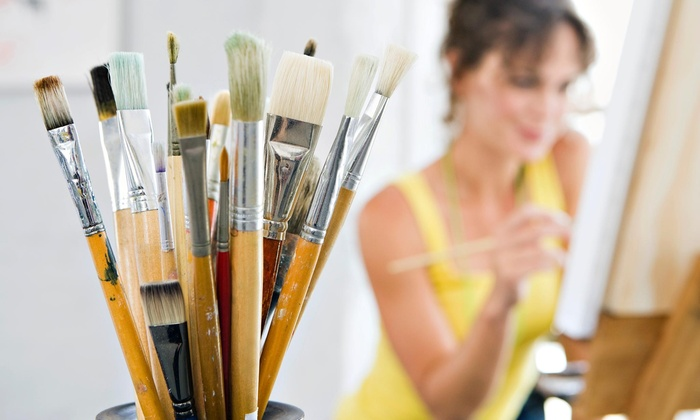 Duke City Paints N Pints - Loop Industrial District: Three-Hour Painting Lesson at Duke City Paints N Pints (44% Off)