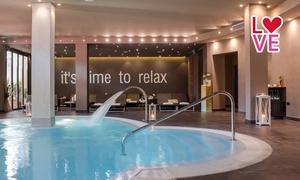 SPA HOTEL MARINETTA: Ingresso spa con bottiglia di bollicine e cena per 2 persone da Spa Hotel Marinetta