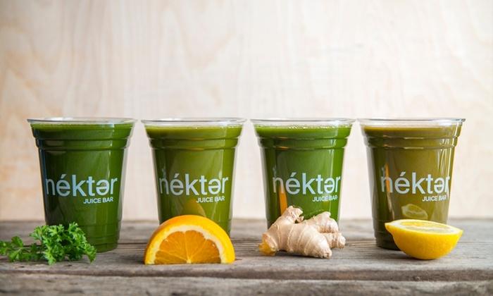 Nekter Juice Bar - Multiple Locations: $28 for $50 Worth of Juice Bar Drinks — Nekter Juice Bar