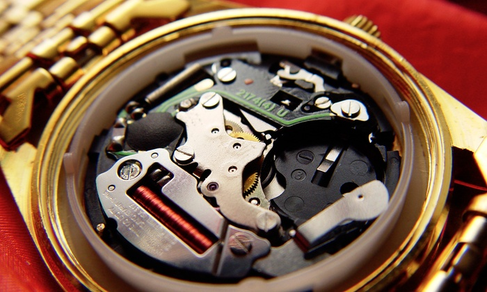 Five Star Jewelers - Five Star Jewers: Watch Battery Replacement for a Swiss or Non-Swiss Watch at Five Star Jewelers (Up to 54% Off)