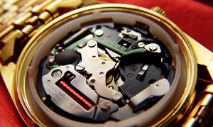 Five Star Jewelers: Watch Battery Replacement for a Swiss or Non-Swiss Watch at Five Star Jewelers (Up to 54% Off)