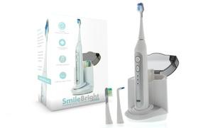 Platinum Edition Elite Sonic Toothbrush with UV Sanitizing Charging Base  : Platinum Edition Elite Sonic Toothbrush with UV Sanitizing Charging Base