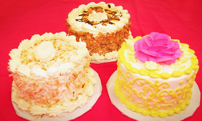 Clarencedale Cake - Multiple Locations: $18 for Three Groupons, Each Good for a Mini Gourmet Cake at Clarencedale Cake ($30 Value)