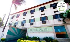 Hotel Plage: Hotel Plage - Praia de Guanabara: 4, 6, 12 ou 24 horas em suíte com garagem (opções com café da manhã)