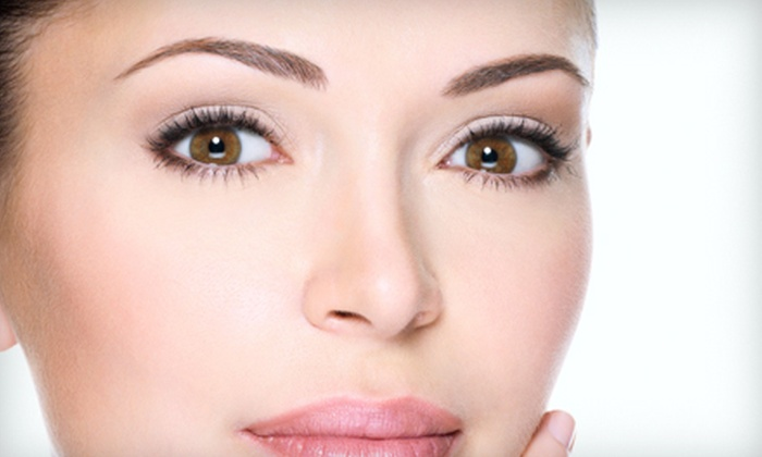 Aura Laser Skin Care - Multiple Locations: Fractional Non-Surgical Eyelift Procedure at Aura Laser Skin Care (Up to 78% Off). Three Options Available.
