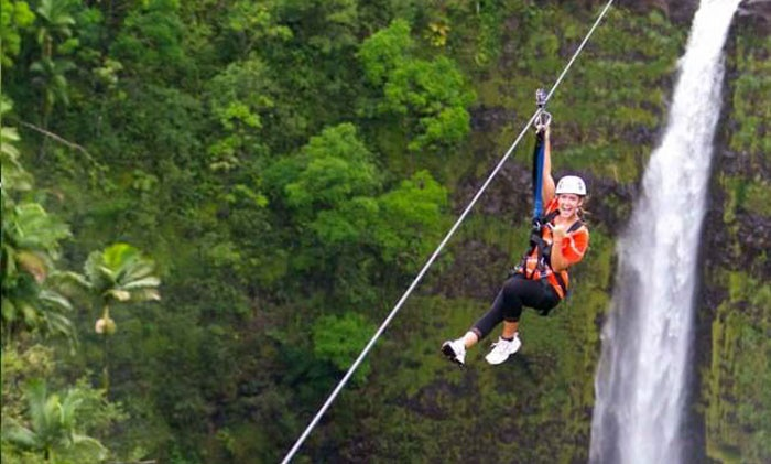 Skyline Eco Adventures -  Big Island - Skyline Eco Adventures -  Big Island: $119 for a Skyline Big Island Tour for One Person from Skyline Eco Adventures - Big Island ($169.95 Value)