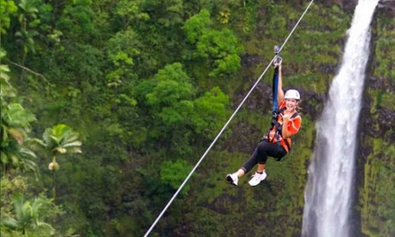 Big Island Zipline Groupon