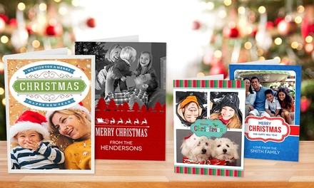 Personalised Christmas Cards: 12Pack , 24Pack or 36Pack Don't Pay up to $149.85