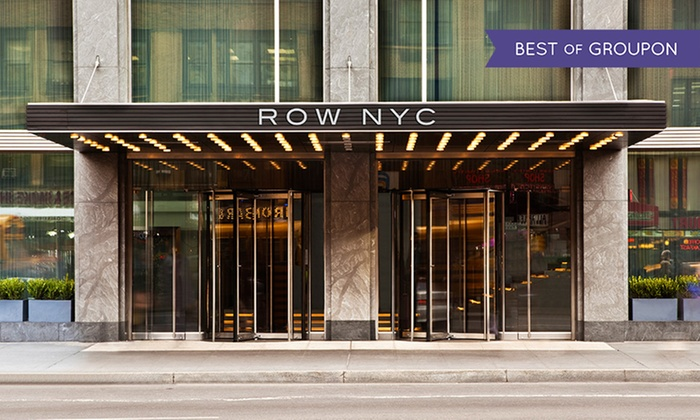 Row NYC - New York City, New York: Stay at Row NYC in Times Square, with Dates through Labor Day Weekend