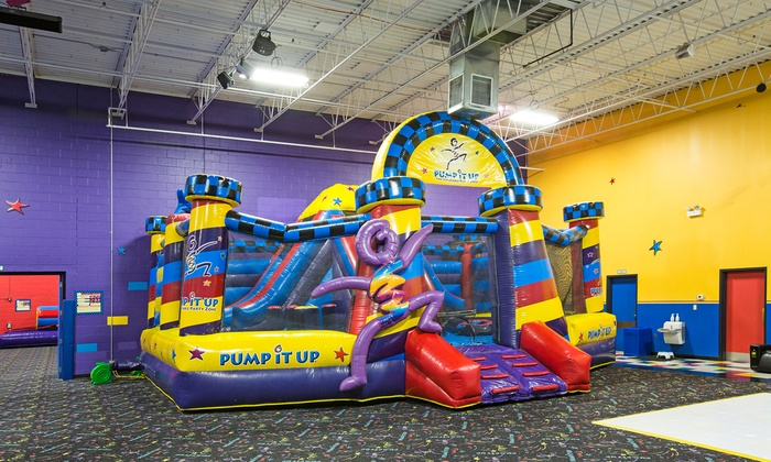 Pump it up Glenview - Glenview: Bounce-House Session for Two, 4 or 8 Sessions for One, or a Tween Night Party at Pump It Up (Up to 40% Off)
