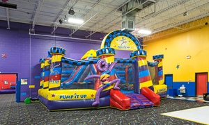 Pump it up Glenview: Bounce-House Session for Two, 4 or 8 Sessions for One, or a Tween Night Party at Pump It Up (Up to 40% Off)