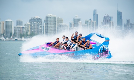 55Min Jet Boat Experience: Child 614 $38, Adult $45 or Family of 4 $159 from GC Jet Boating Up to $185 Value