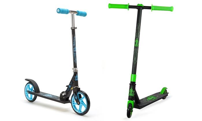 D6 Sidekick Stunt or Grande Big Wheeled Scooter