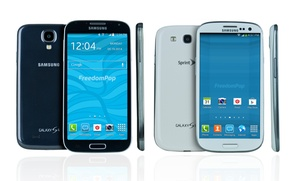 Samsung Galaxy S4, S3, Or S2 With Free Mobile-phone Service From Freedompop (certified Pre-owned)