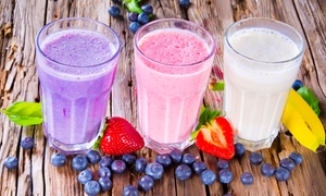 The Smoothie Shop: $12 for Four Groupons, Each Good for $6 Worth of Smoothies at The Smoothie Shop ($24 Total Value)