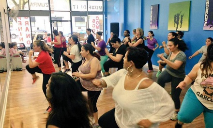 Five Zumba Classes at Studio 101 Dance Fitness, LLC. (61% Off)