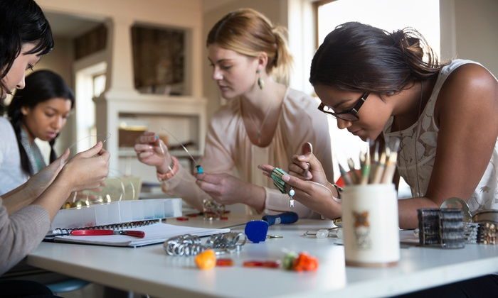 jewelry making classes charmed and company groupon