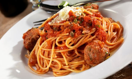 Pasta, Pizza, and Italian Subs at Pasta Plus (Up to 53% Off). Two Options Available.