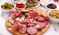 Meat Platter with Wine for Two or Four at The Green Man Inn (53% Off)