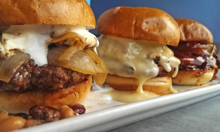 $18 for $30 Worth of Award winning Burgers and Shakes at Lunchbox Laboratory - Gig Harbor