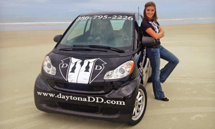 Designated Driver - Daytona Beach: One or Three Designated-Driver Pickups from Designated Driver (Up to 75% Off)