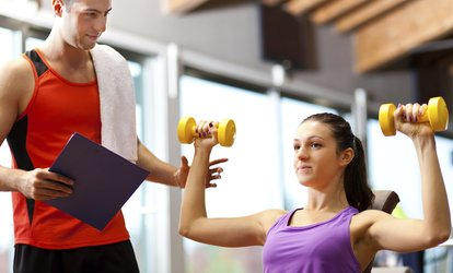 image for Personal Training: One, Three or Five Sessions from £9.99 at Excelerate Fitness CIC (Up to 68% Off)