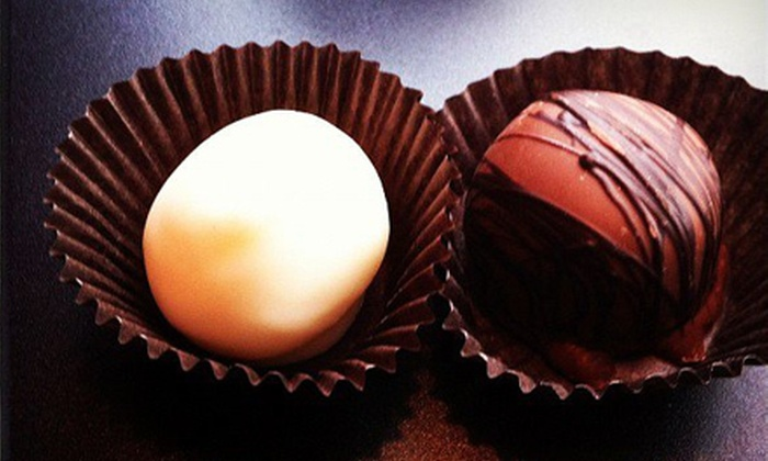 Sinful Sweets Chocolate Company - Central Lawrenceville: One or Two 8 Oz. Boxes of Truffles at Sinful Sweets Chocolate Company (Up to 56% Off)